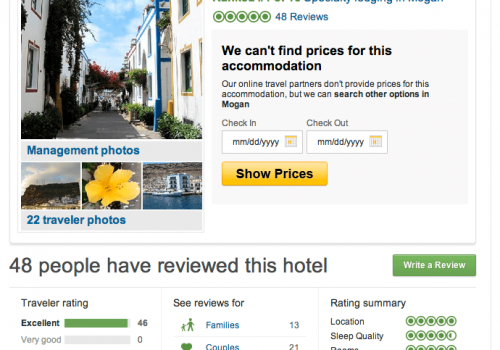 tripadvisor five stars rating