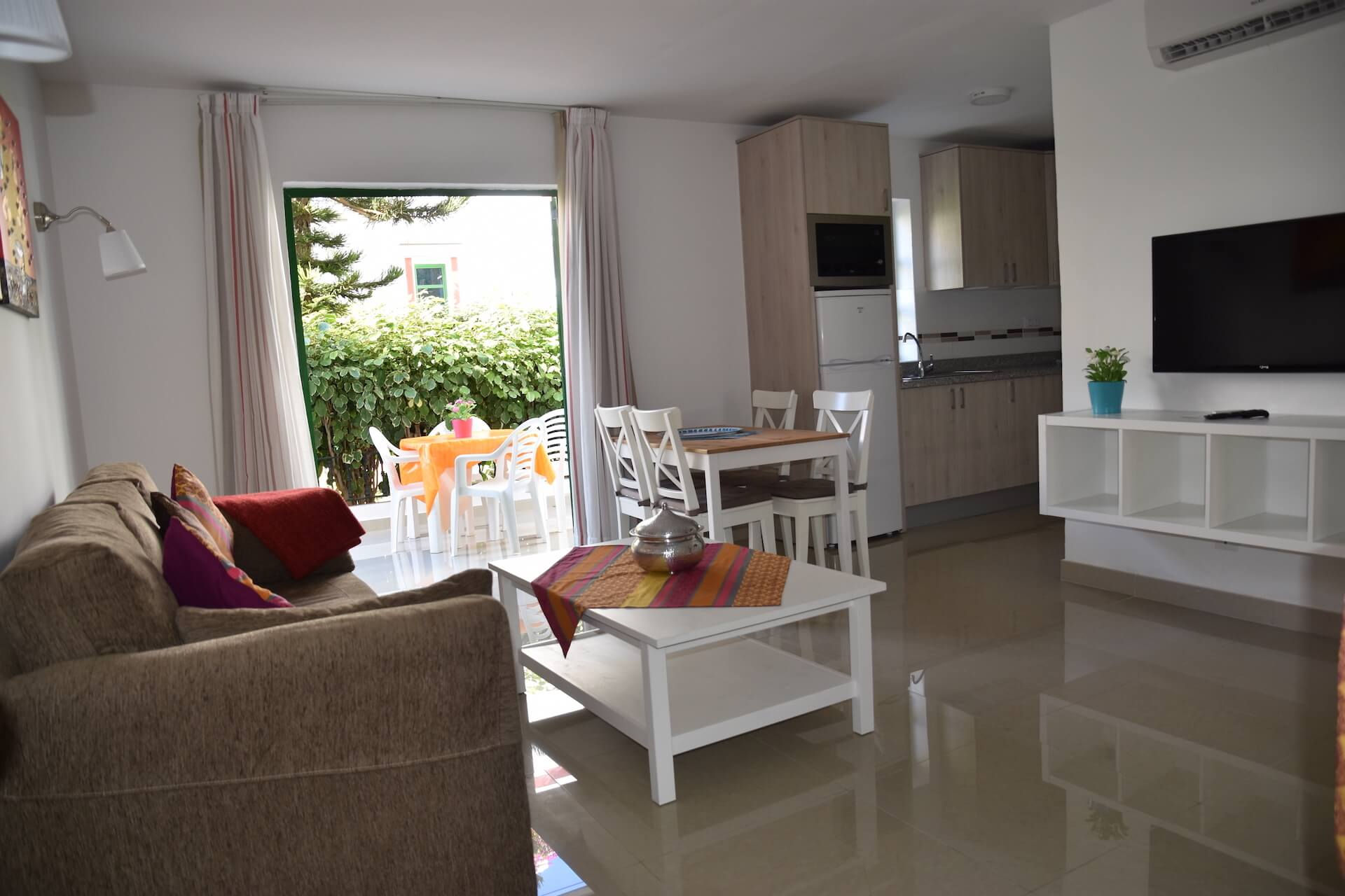 Two bedroom lower floor with big balcony luxury holiday for One big room apartment